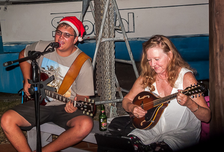 Christmas Music Jam, Powerboats, Trinidad